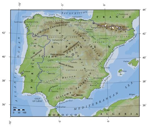 redul   Península Ibérica