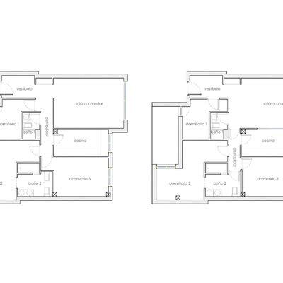 Reforma menor en piso de 90 metros cuadrados incluye ...