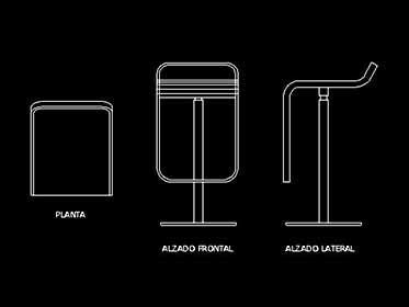 Refrigerador / Nevera Duplex - Bloque de mueble Autocad 2d ...