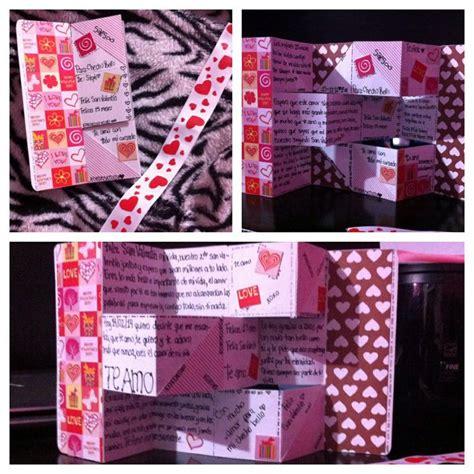 Regalo de san Valentín para mi novio/ hecho por mi misma ...