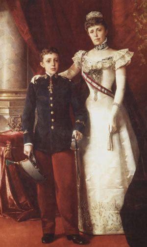 Regencia de María Cristina de Habsburgo Lorena  1885 1902