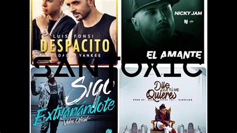 Reggaeton MIX 2017 (VOL.2) - Despacito, El amante, Sigo ...