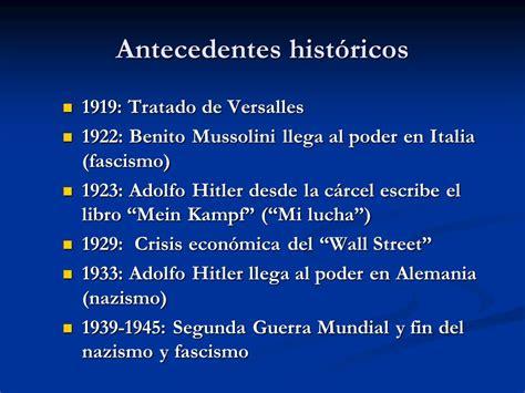Regímenes Totalitarios Nacionalsocialismo. Fascismo ...