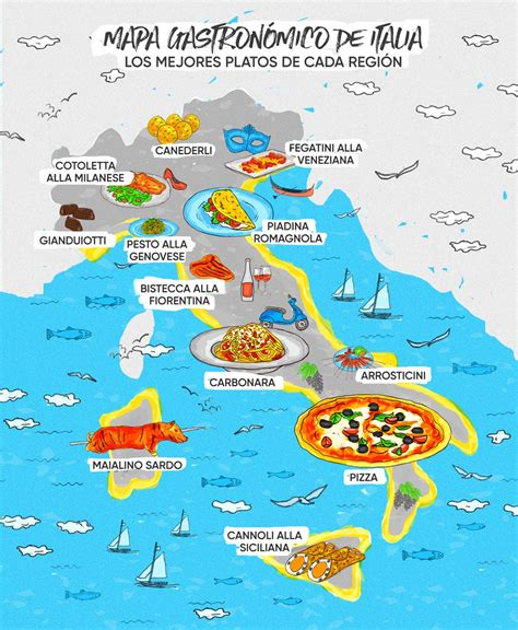 Regiones de Italia, por orden alfabetico o situacion ...