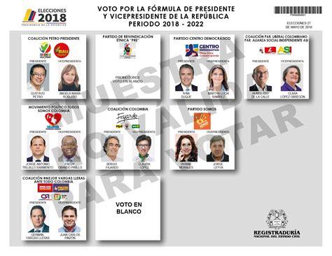 Registraduría Nacional del Estado Civil   Elecciones 25 de ...
