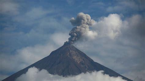 Registros de erupción volcánica en Guatemala captados por ...