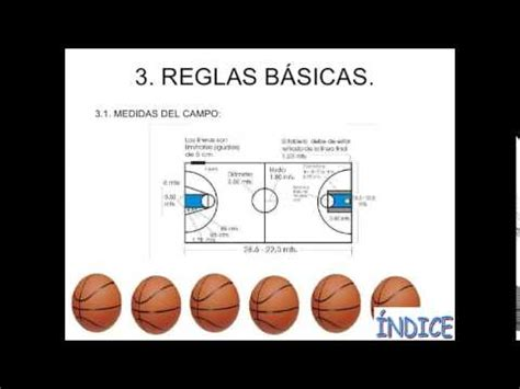 reglamento de baloncesto   YouTube