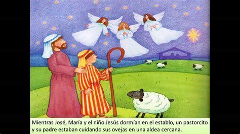 Relatos de la Biblia para niños EL NACIMIENTO DE JESUS ...