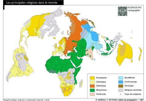 Reli en Grande: Distribución geográfica de las Religiones