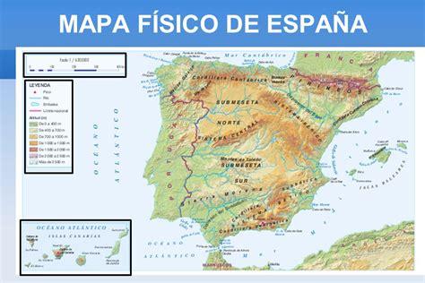 Relieve y ríos de España   ppt descargar