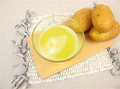 Remedio de Jugo de Patata para Bajar el Ácido Úrico