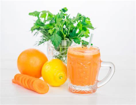 Remedio de Licuado de Perejil, Zanahoria y Limón para la ...