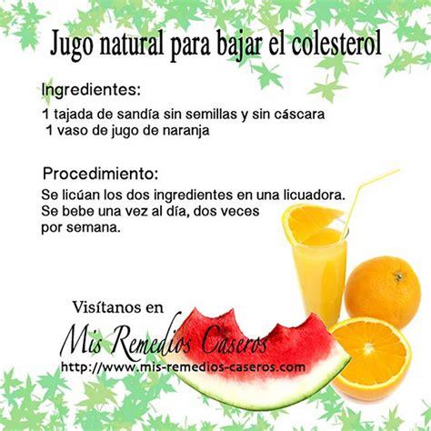 Remedios caseros para bajar el colesterol - Mis Remedios ...