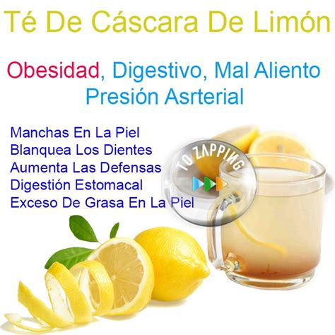 Remedios Caseros Té De Cáscara De Limón - Tozapping.com