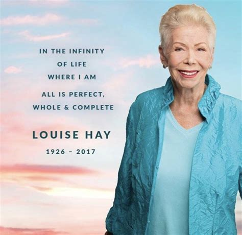 Remembering Louise Hay, One Positive Thought at a Time ...