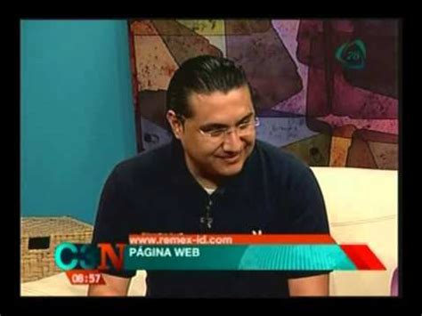 REMEX ID Entrevista TV Cadena 3 Noticias Primera Emisión ...