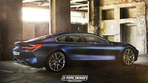 Rendering: 2019 BMW 8 Series Gran Coupe Is a Stylish ...