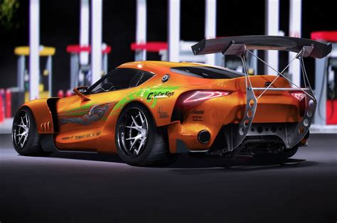 Renders Bring Cars From The Fast and the Furious up to ...