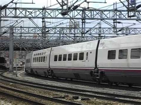 Renfe AVE   S100.006 entrando en Atocha   YouTube
