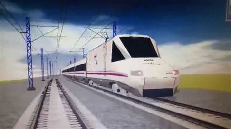Renfe AVE S102   Pato    YouTube