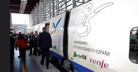 Renfe venderá 25.000 billetes de AVE a 25 euros el próximo ...