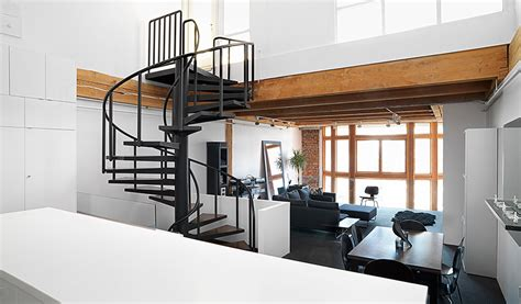 Renovated Loft Becomes Functional Family Home ...
