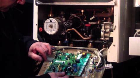 Reparar caldera de gas Tutorial sustitucion placa de ...
