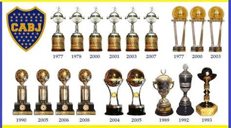 Repasemos las copas del C.A.B.J   Deportes   Taringa!