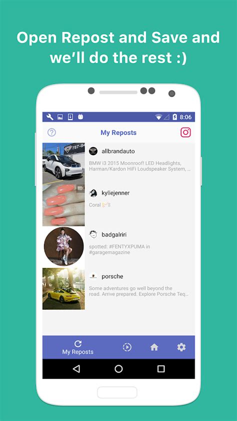 Repost and Save for Instagram - Android Apps on Google Play