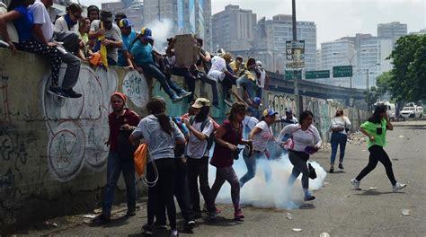 Represión y caos en Venezuela