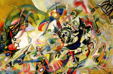 Reproduction Painting Wassily Kandinsky Composition VII ...