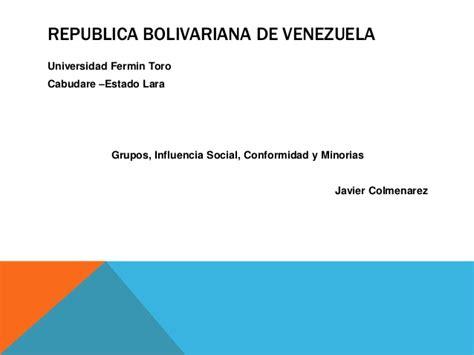 Republica Bolivariana De Venezuela Universidad   prestamosinun