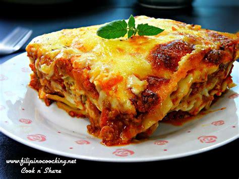 resepi lasagna cheese