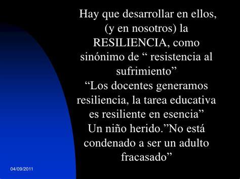 Resiliencia, juego y familia