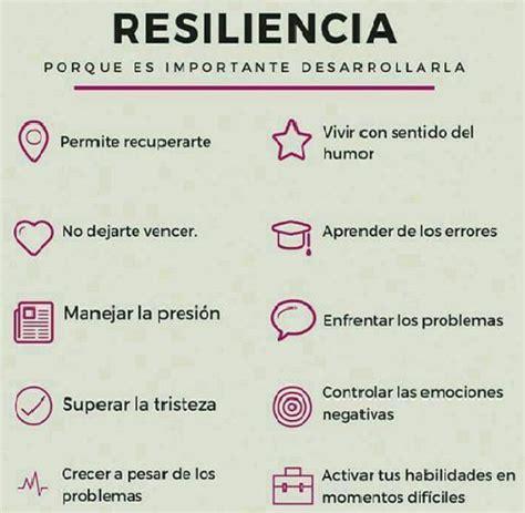 RESILIENCIA   Punto Coaching