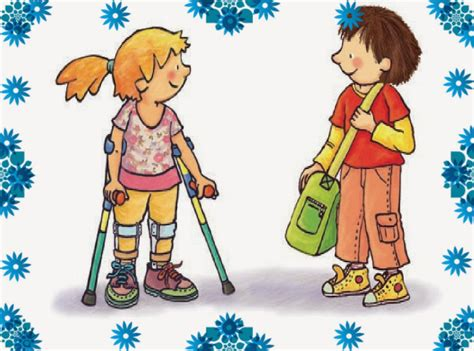 Respeto a la igualdad de niños con capacidades diferentes ...
