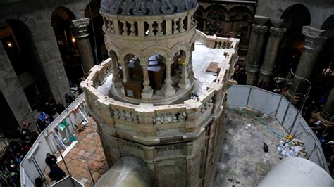 Restauran la tumba de Jesús en Jerusalén   Tele 13