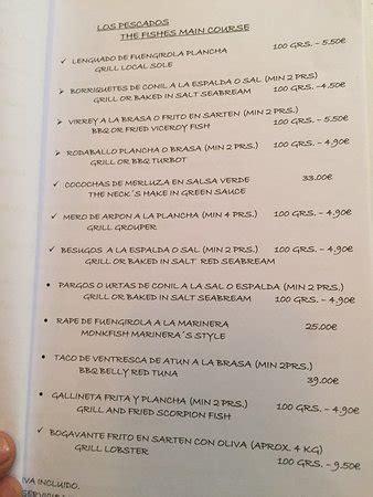 Restaurante Los Marinos Jose, Fuengirola ...