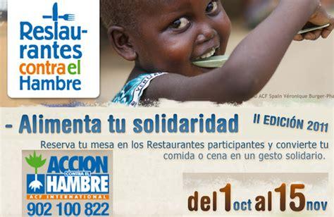 Restaurantes Contra el Hambre 2011 | Gastronomía & Cía