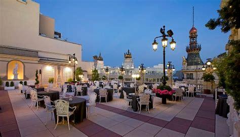 Restaurantes gastronómicos con terraza en Madrid ...