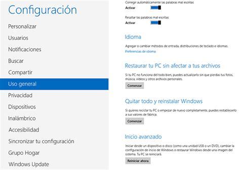 Restaurar al estado de fábrica de Windows 7 / Windows 8 ...