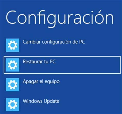 Restaurar tu Ultrabook con Windows 8