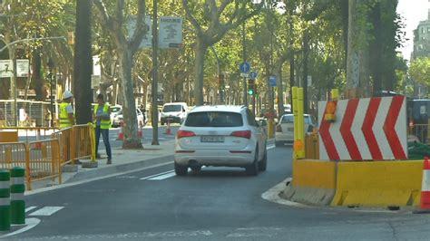 Restriccions de trànsit a la Diagonal aquest cap de ...