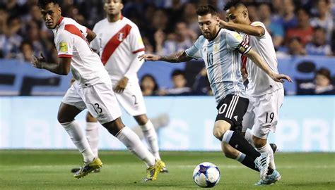 Resultado Argentina - Perú | Eliminatorias Mundial 2018