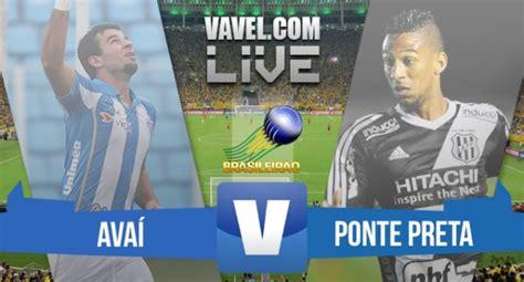 Resultado Avaí x Ponte Preta no Brasileirão Série A 2015 ...