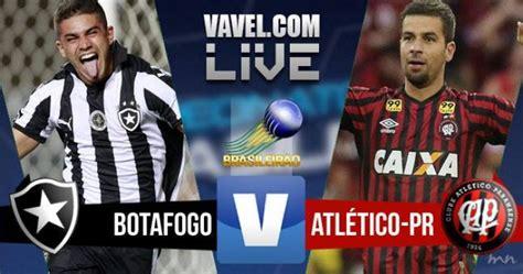 Resultado Botafogo x Atlético PR no Brasileirão Série A ...
