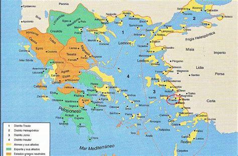 Resultado de imagen de mapa de grecia antigua | HISTORIA ...