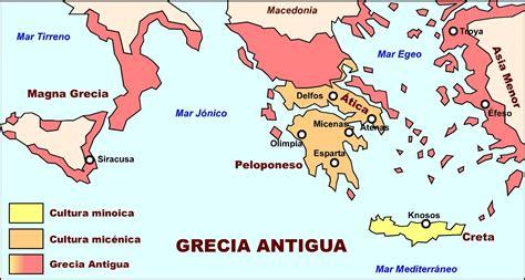 Resultado de imagen para grecia antigua mapa | Recursos ...
