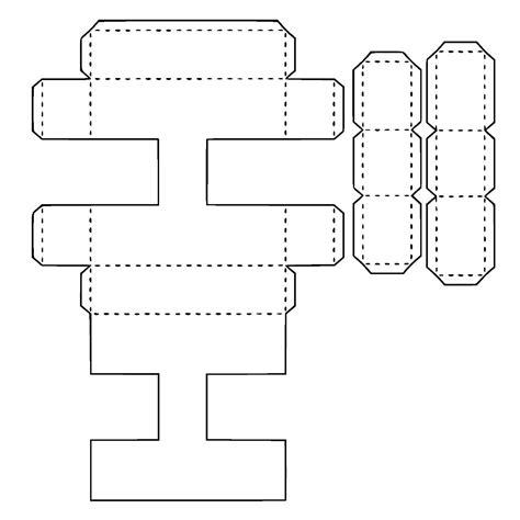 Resultado de imagen para moldes de la s letras 3d grandes ...