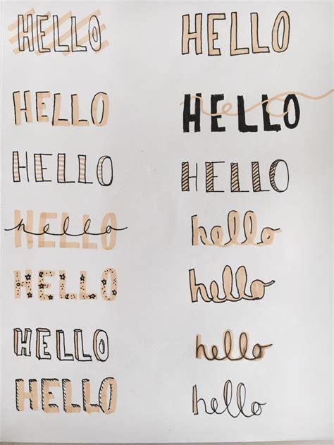 Resultado de imagen para tipos de letras tumblr | bullet ...